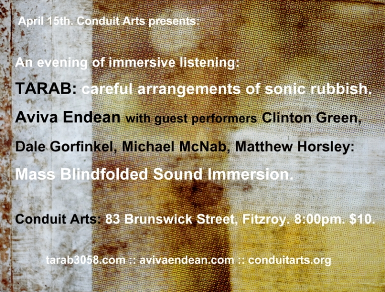 An evening of listening flyer (Apr 2016)