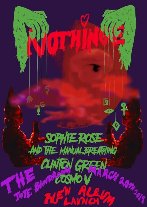 Nothinge Tote flyer